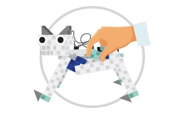 apprendre à coder robot chien