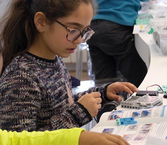 atelier découverte à la robotique scratch 9-14 ans